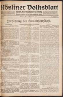 Kösliner Volksblatt [1919-09] Nr. 211