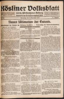 Kösliner Volksblatt [1919-09] Nr. 212