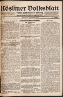 Kösliner Volksblatt [1919-09] Nr. 213