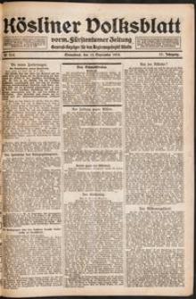 Kösliner Volksblatt [1919-09] Nr. 214