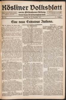 Kösliner Volksblatt [1919-09] Nr. 216