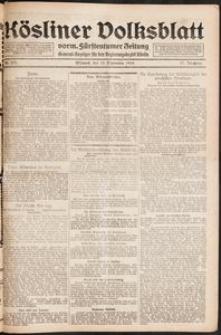 Kösliner Volksblatt [1919-09] Nr. 217