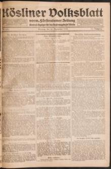 Kösliner Volksblatt [1919-09] Nr. 221