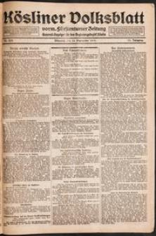 Kösliner Volksblatt [1919-09] Nr. 223