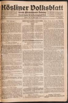 Kösliner Volksblatt [1919-09] Nr. 225