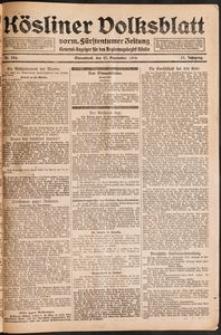 Kösliner Volksblatt [1919-09] Nr. 226