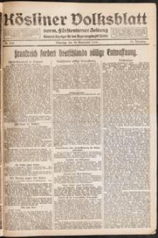 Kösliner Volksblatt [1919-09] Nr. 228
