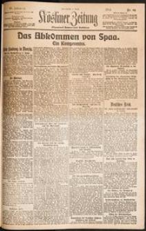 Kösliner Zeitung [1919-04] Nr. 81