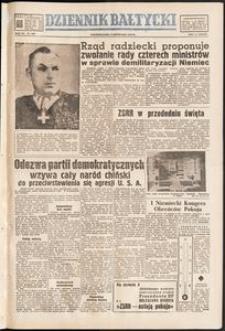 Dziennik Bałtycki, 1950, nr 306