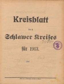 Kreisblatt des Schlawer Kreises 1913