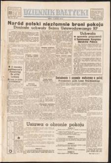 Dziennik Bałtycki, 1950, nr 358