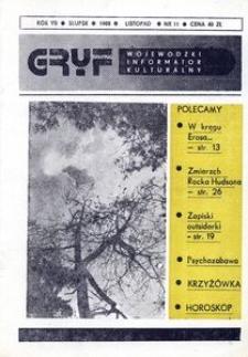 Gryf 1988, listopad