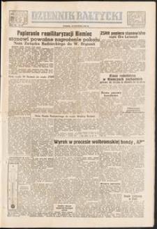 Dziennik Bałtycki, 1951, nr 22