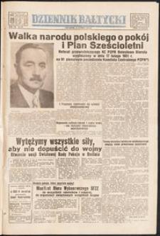 Dziennik Bałtycki, 1951, nr 52