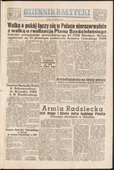 Dziennik Bałtycki, 1951, nr 54