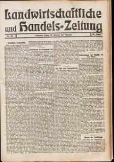 Landwirtschaftliche und Handels - Zeitung Nr. 43/1911
