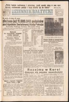 Dziennik Bałtycki, 1951, nr 137