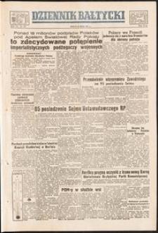 Dziennik Bałtycki, 1951, nr 143