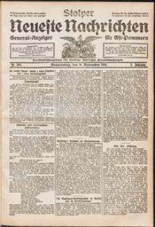 Stolper Neueste Nachrichten. Nr 264/1911