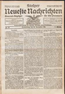 Stolper Neueste Nachrichten. Nr 270/1911