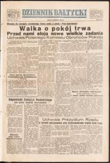 Dziennik Bałtycki, 1951, nr 154