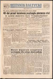 Dziennik Bałtycki, 1951, nr 161