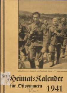 Heimatkalender für Ostpommern 1941