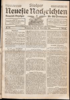 Stolper Neueste Nachrichten. Nr 281/1911