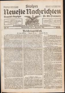Stolper Neueste Nachrichten. Nr 287/1911
