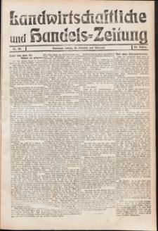 Landwirtschaftliche und Handels - Zeitung Nr. 48/1911