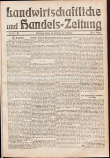 Landwirtschaftliche und Handels - Zeitung Nr. 49/1911