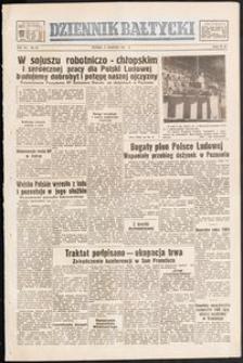 Dziennik Bałtycki, 1951, nr 241