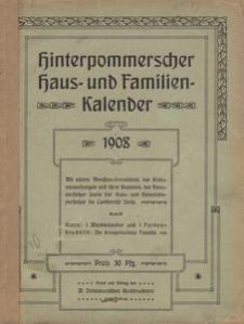 Hinterpommerscher Haus- und Familienkalender 1908
