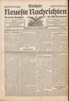 Stolper Neueste Nachrichten Nr. 13/1909