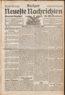Stolper Neueste Nachrichten Nr. 39/1909