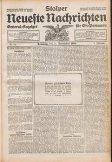 Stolper Neueste Nachrichten Nr. 44/1909