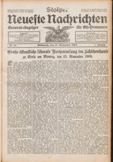 Stolper Neueste Nachrichten Nr. 46/1909