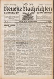 Stolper Neueste Nachrichten Nr. 47/1909
