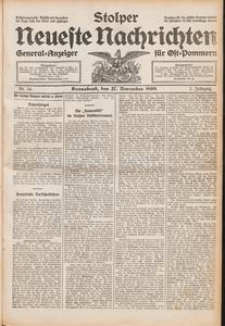 Stolper Neueste Nachrichten Nr. 54/1909