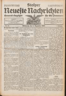 Stolper Neueste Nachrichten Nr. 63/1909