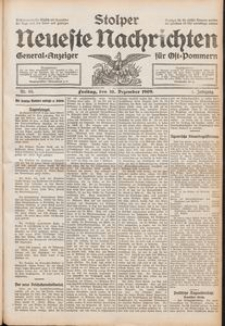 Stolper Neueste Nachrichten Nr. 65/1909