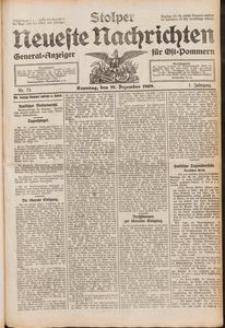 Stolper Neueste Nachrichten Nr. 73/1909