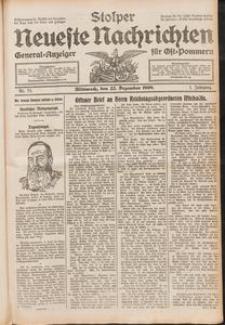 Stolper Neueste Nachrichten Nr. 75/1909