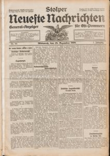 Stolper Neueste Nachrichten Nr. 80/1909