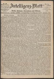 Inteligenz-Blatt für Stolp, Schlawe, Lauenburg und Bütow. Nr 13/1868 r.