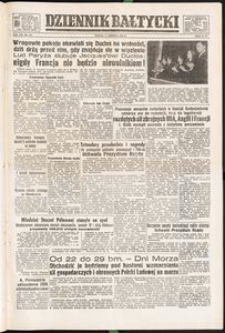 Dziennik Bałtycki, 1952, nr 142