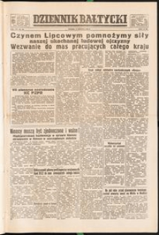 Dziennik Bałtycki, 1952, nr 144