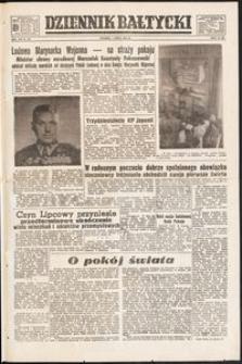 Dziennik Bałtycki, 1952, nr 156