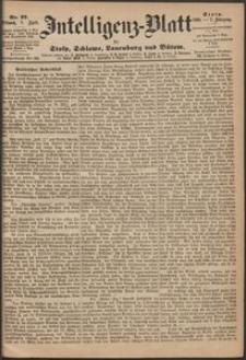 Inteligenz-Blatt für Stolp, Schlawe, Lauenburg und Bütow. Nr 27/1868 r.