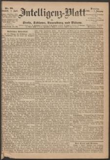 Inteligenz-Blatt für Stolp, Schlawe, Lauenburg und Bütow. Nr 28/1868 r.